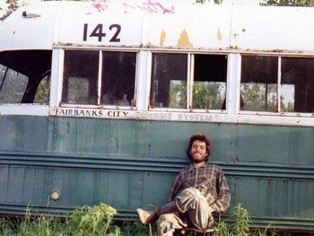 Chirs McCandless in his area