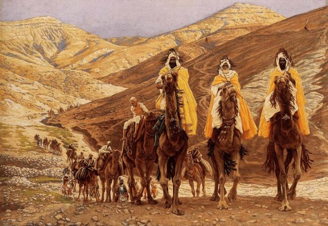 James Tissot, The Journey of the Magi, 1894