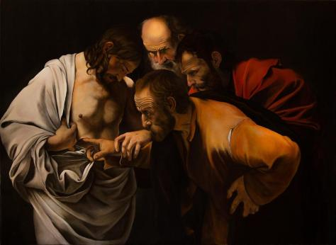 unbelief-of-st-thomas-after-caravaggio-massimo-tizzano