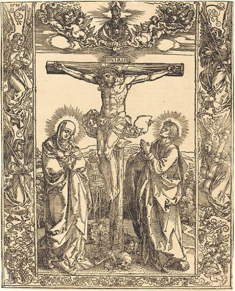 484px-Albrecht_Dürer_-_Christ_on_the_Cross_(NGA_1943.3.3681)